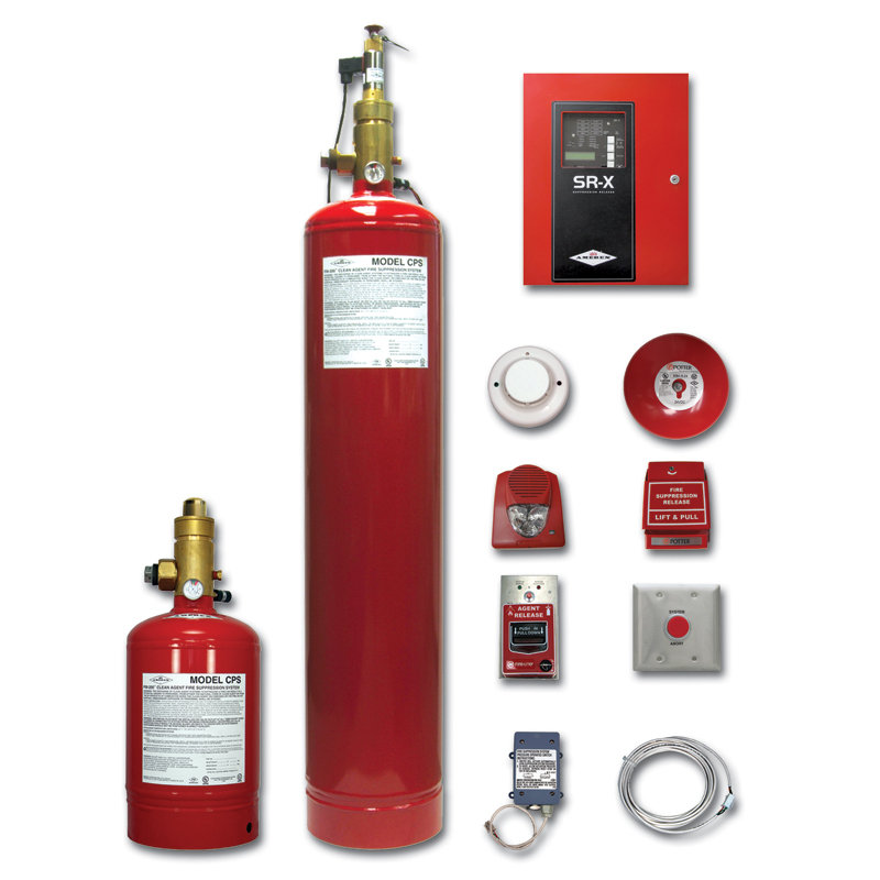 Clean Agent CPS Fire Suppression by Amerex in Sacramento, California