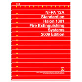 NFPA 12A Standard on Halon 1301 Fire Extinguishing Systems