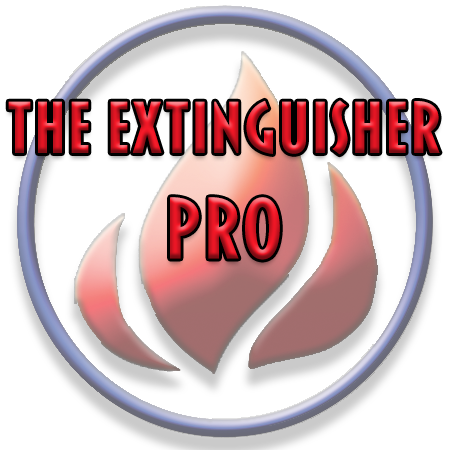 The Extinguisher Pro ™ Brand Logo