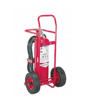 Wheeled Unit Fire Extinguishers in Rockford, Illinois
