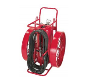 Wheeled Fire Extinguisher Dolly Carts in Dallas, Texas