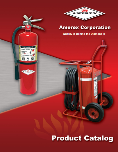 Amerex Fire Extinguisher Products in Sacramento, California
