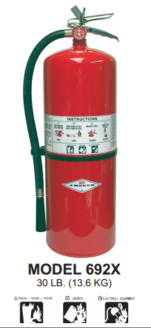 ABC Multipurpose Fire Extinguishers by Amerex in Bel Air, California