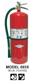 Purple K Fire Extinguishers by Amerex