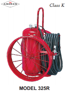 Wheeled Unit Fire Extinguisher Class K Amerex in San Diego, California