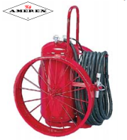 Foam Type Wheeled Unit Fire Extinguisher by Amerex in Bel Air, California